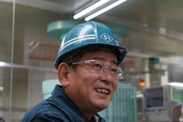 工場長 取締役 鮫島 和美